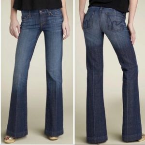 Citizens of Humanity Faye Wide Leg Trouser Jeans